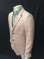 Maddox Street Sports Jacket, Apricot, Size 40, Cotton, Bnwt, Season