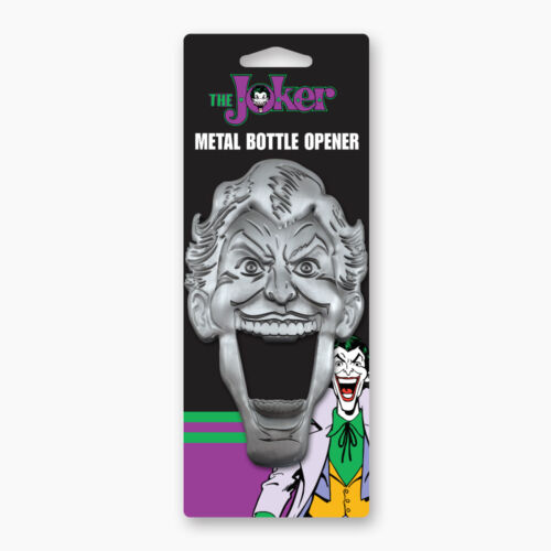 JOKER METAL BOTTLE OPENER BRAND NEW HEAVY DUTY DC COMICS 16016