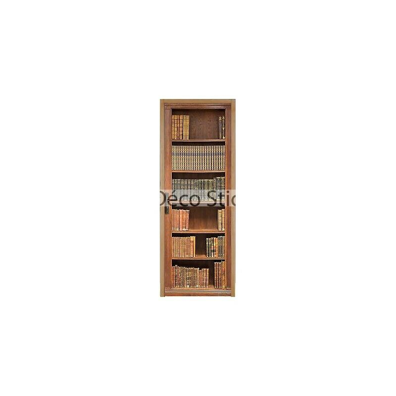 Aufkleber für Tür Flach Bibliothek 73x204cm Ref 201 0c56f90f241b