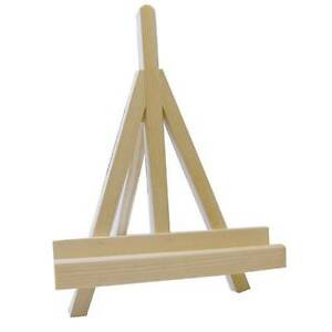 25cm Mini Wooden Artist Easel Stand Painting Canvas Craft