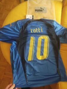 Dettagli su Maglia Italia campione del mondo 2006 Grosso, Totti, Pirlo, Materazzi