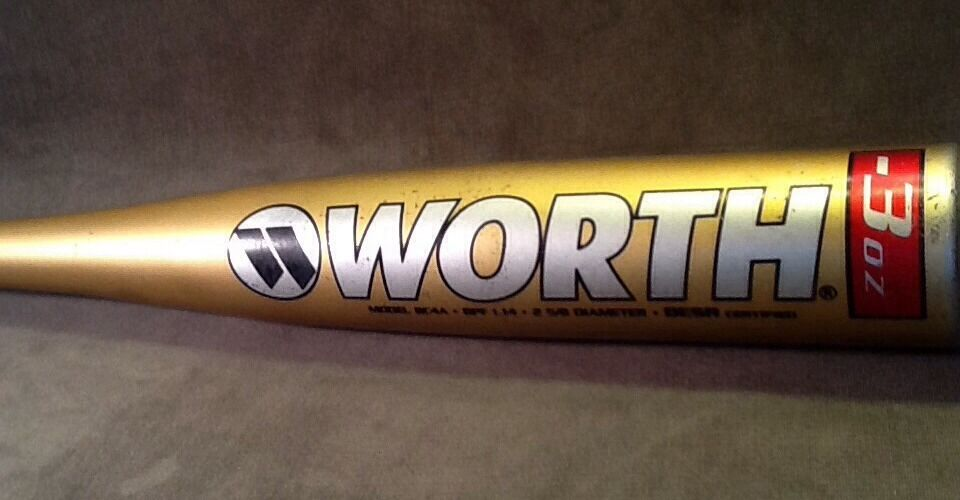 Worth Copperhead 31 28 Adult Baseball Bat 2 5 8 dia  BESR