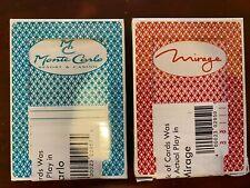 2 Random Las Vegas Casino Used Playing Cards Deck Nevada Or Atlantic City!