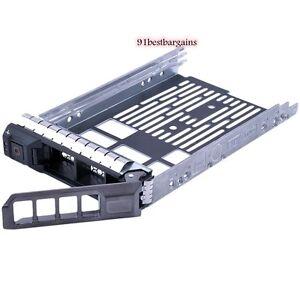 New-F238F-0F238F-Dell-3-5-034-SAS-Tray-Caddy-R720-R710-R620-R610-R410-T710-T610
