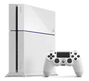 Sony PlayStation 4 - 500 Go Blanche