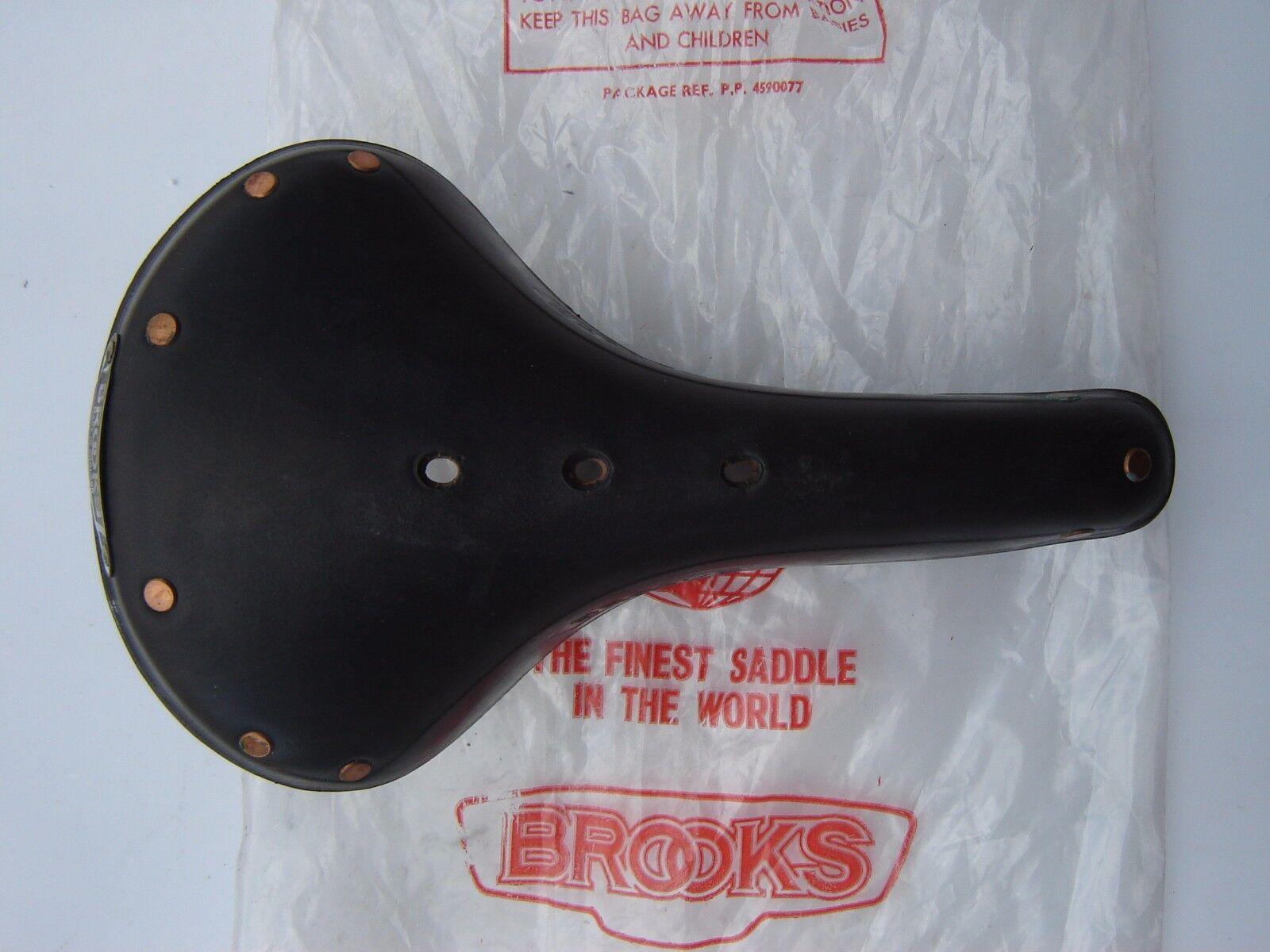 BROOKS VINTAGE B17  CHAMPION STANDARD LEATHER SADDLE - 1977 - NOS - NIP  buy 100% authentic quality