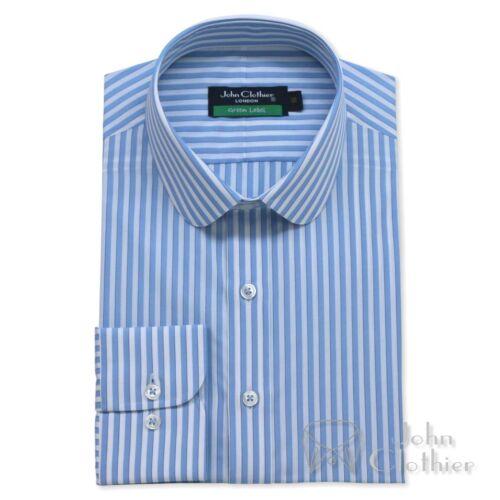 en banquiers pour ciel Collar les et bleu coton Penny Chemise bleu IRUdHwYRq