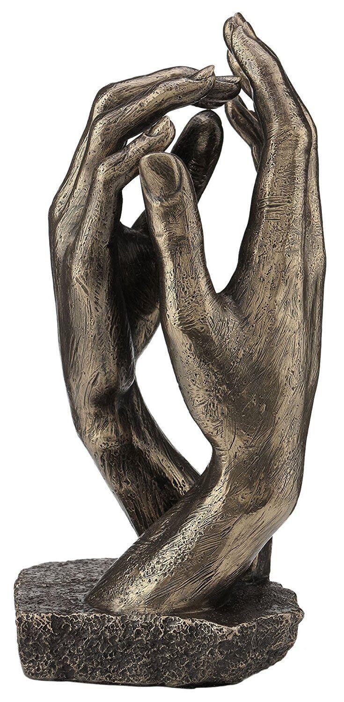 basso prezzo del 40% 'The Cattedrale Mano Statua Scultura - Perfetto Matrimonio Regalo Regalo Regalo Anniversario  merce di alta qualità e servizio conveniente e onesto