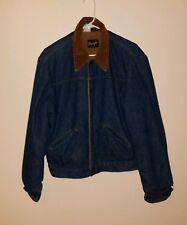 530cec96220 item 2 Vtg Wrangler Coat Denim Sherpa Fleece Lined Mens Size Small Made In  USA Jacket -Vtg Wrangler Coat Denim Sherpa Fleece Lined Mens Size Small  Made In ...