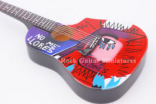 RGM694 Chris Martin COLDPLAY No More Llore Miniature Guitar