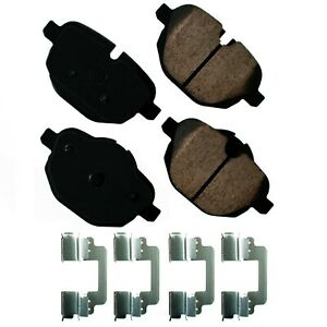 Disc-Brake-Pad-Set-Euro-Ultra-Premium-Ceramic-Pads-Rear-Akebono-EUR1473
