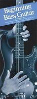 Beginning Bass Guitar Sheet Music Book 014003817
