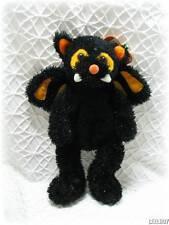 Halloween Plush Kitty Cat Vampire Bat Kellytoy Toy Lovey Animal New With Tags