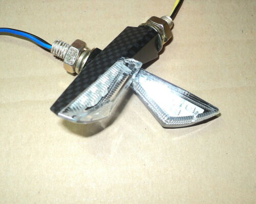 ►2 MINI  WINKER SMD LED Kawasaki VN650,VN800,ZZR1400,Z1300,KZ1000 Police,KX250►