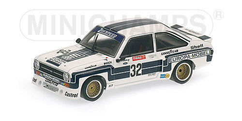 Minichamps Ford Escort II rs1800 ADAC super sprint DRM 1976 Klaus Ludwig 1 43,  14