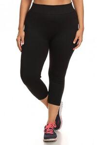 c72f6608d A imagem está carregando Feminino-Plus-Size-calcas-de-Yoga-Active-Wear-