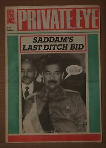 PRIVATE-EYE-VINTAGE-MAGAZINE-FRIDAY-1ST-MARCH-1991-No-762-a-POLITICS-SATIRE