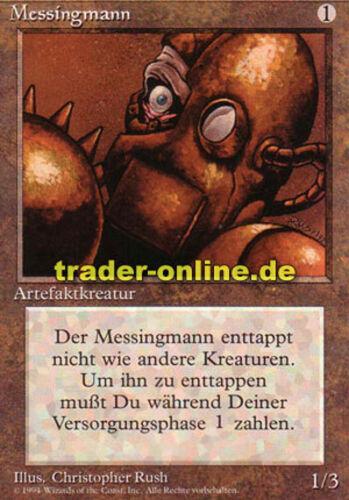 2x Messingmann Magic limited black bordered german beta fbb foreign Brass Man