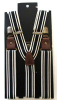 Mens H&m Blue Suspenders One Size