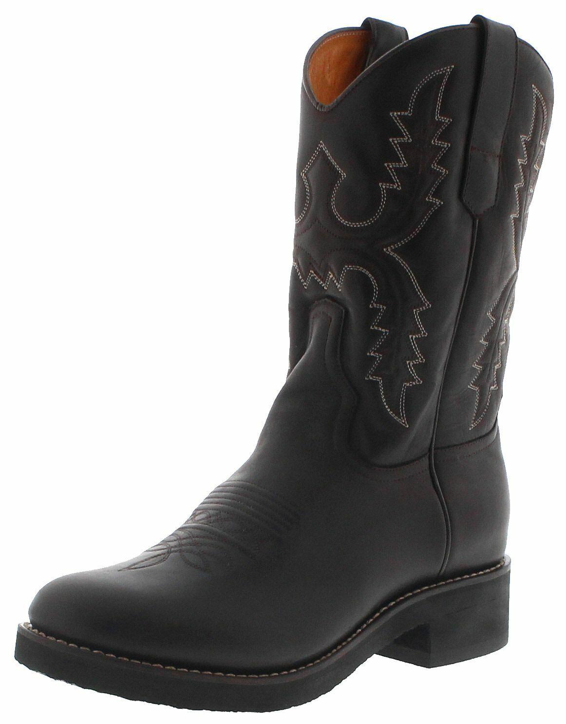 Sendra stivali 11615 CAFE Uomo Cowboy Stivali Stivali Western MONTALA Marronee