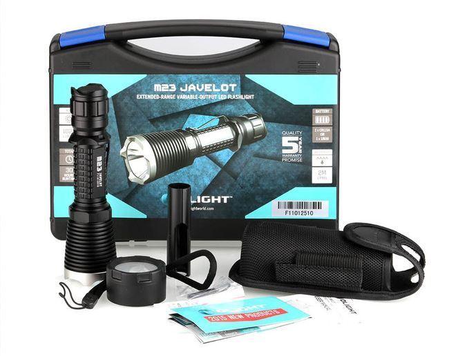 LED Flashlight - Olight M23 Javelot