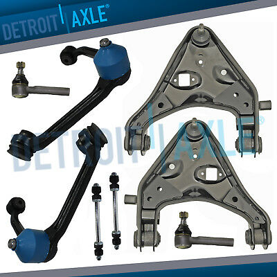 Detroit Axle New 12 Piece Front Lower Control Arm Suspension Kit for Mazda 3 and Mazda 5 Non Turbo Charged