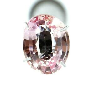 4.20 Ct Natural Padparadscha Sapphire Oval Cut Certified AAA+ Loose Gemstone