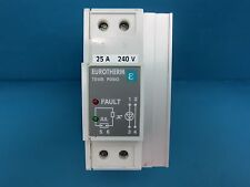 eurotherm te10s 25a 240v pds2 eng solid state relay 25a 240v din rail