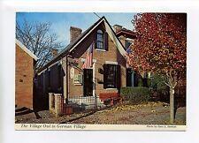 "Columbus OH 1977 German Village, The Village Owl, 4"" X 6"", vintage postcard"