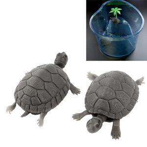 2-Pcs-Plastic-Tortoise-Artificial-Turtle-Aquarium-Ornament-Fish-Tank-Decoration