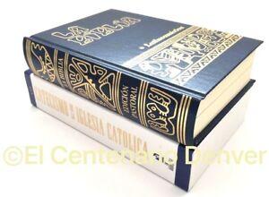 1 Catecismo De La Iglesia Catolica 1 La Biblia Bolsillo Latinoamericana Combo Ebay
