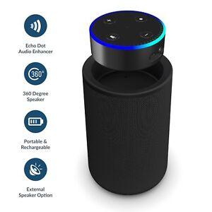 Speaker Dock for Amazon Echo Dot Alexa (1st & 2nd Generation) Smart Portable