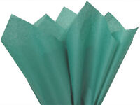 Teal Green Tissue Paper For Gift Wrapping 20x26 Sheets Eco-friendly