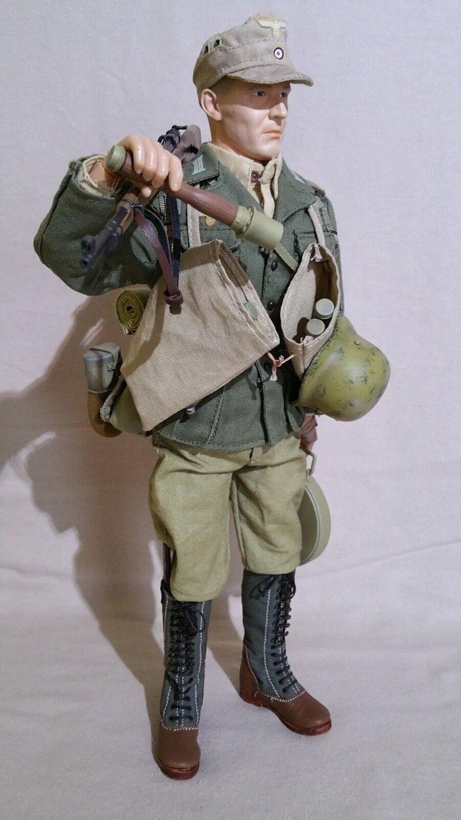 Action Figure WW2. Figurine 1 6 de soldat Allemand (Africa Korps)