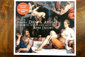 Purcell - Dido & Aeneas, Jacobs  -  CD,VG