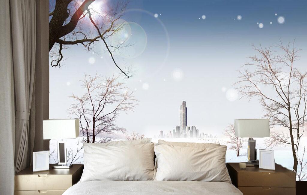 3D Weiß Snow Building 4217 Wall Paper Wall Print Decal Wall AJ WALLPAPER CA