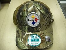 PITTSBURGH STEELERS New Era 9Forty Realtree Camo adjustable Hat
