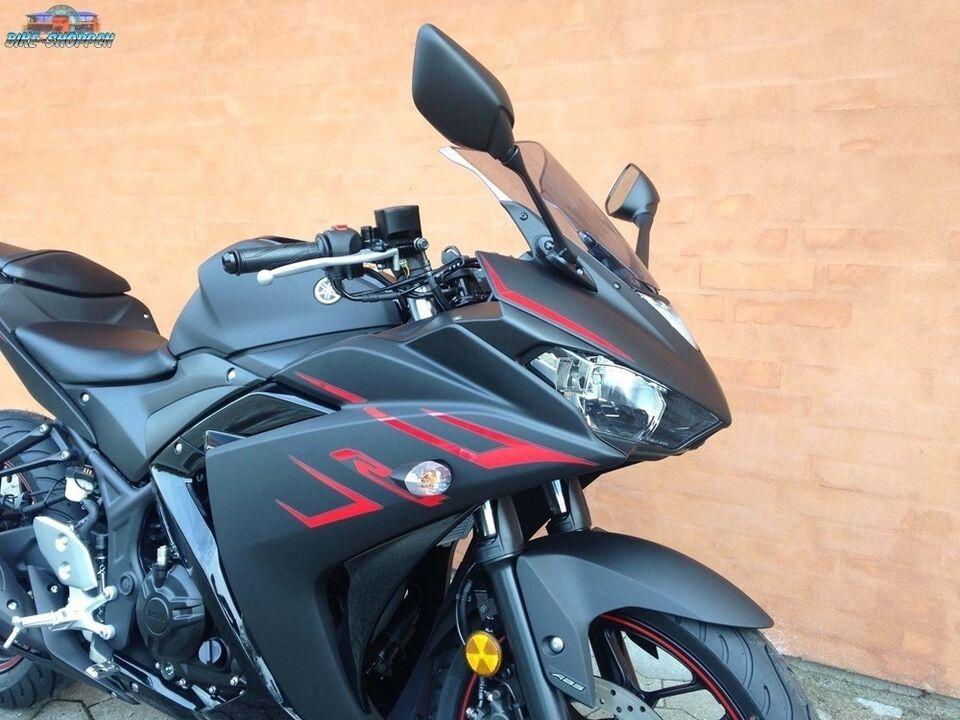 Yamaha, YZF-R3 Power Black, ccm 321