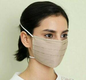 🇫🇷 Lot 10 Masques AFNOR Lavable (Élastique par la tête) Norme Française