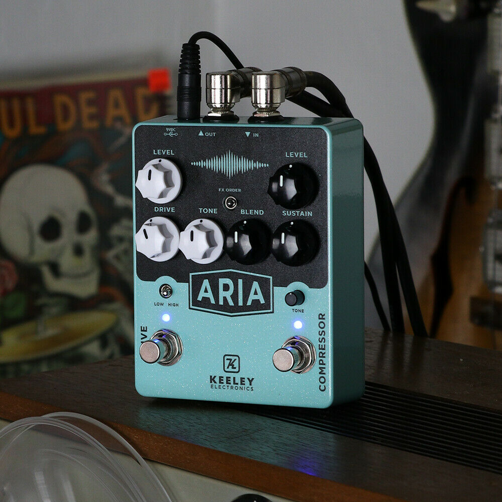 Keeley Aria Compressor Overdrive Guitar Effect Pedal