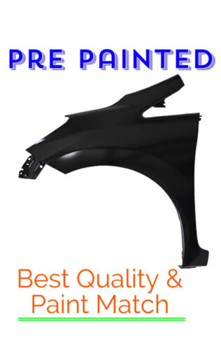 PRE PAINTED Driver LH Fender for 2014-2018 Nissan Versa Note  w FREE TouchUp