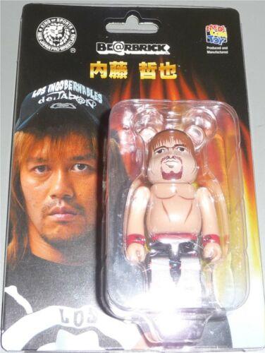 """Tetsuya Naito 2.5/"""" NJPW Be@rbrick BearBrick Toy Figure by Medicom NEW IN STOCK"""