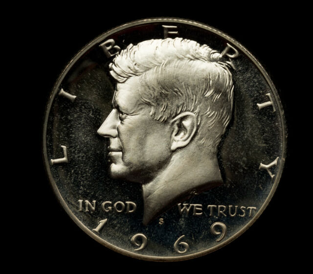 NGC Certified PR68 1969-S Kennedy Half Dollar 40/% Silver 50 Cent 50c