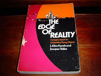 THE EDGE OF REALITY by Jacques Vallee & J. Allen Hynek (1976)