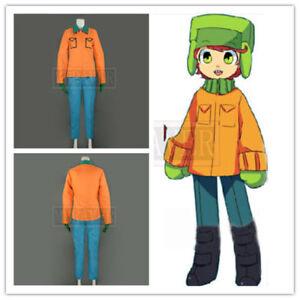 New South Park Kyle Broflovski Suit Uniform Cosplay Costume Custom