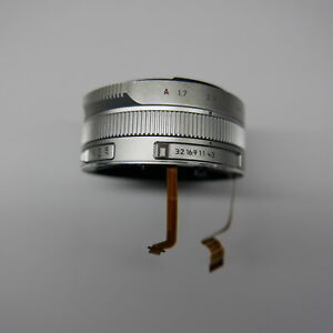 For-Leica-D-LUX-TYP-109-front-cover-lens-zoom-ring-repair-parts-Silver