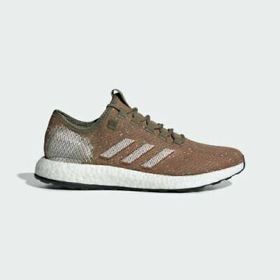 Plaga Lógicamente oasis  new Adidas Mens 13 Pureboost raw khaki/true orange Running Shoes pure boost  | eBay