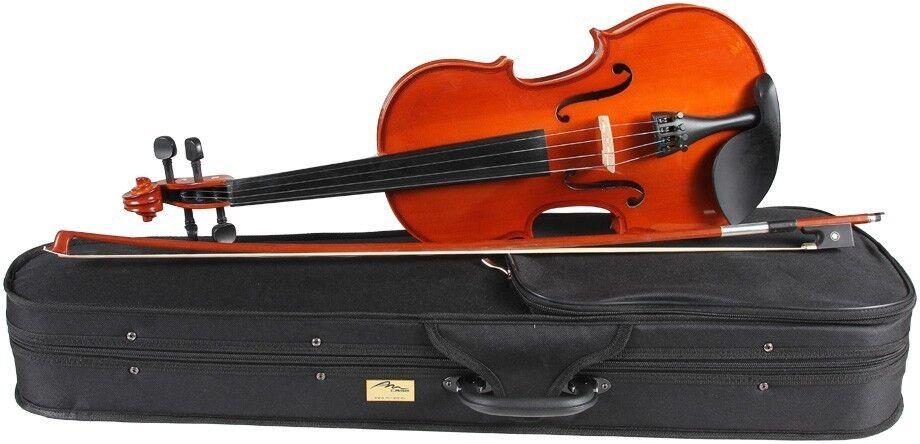 DE Geige (Violine) 1 4 M-tunes No.100 hölzern - spielbereit