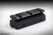 New Tri-Rail Dovetail 11mm to Weaver Picatinny Rail Adapter