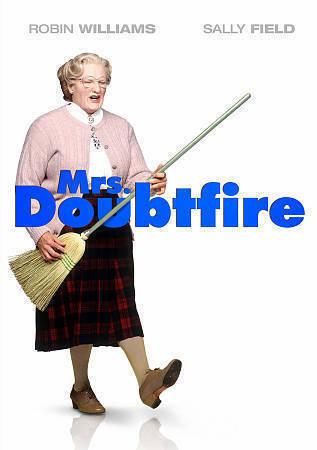 La Señora Doubtfire Dvd Robin Williams Sally Field PG-13 características especiales Nuevo Sellado